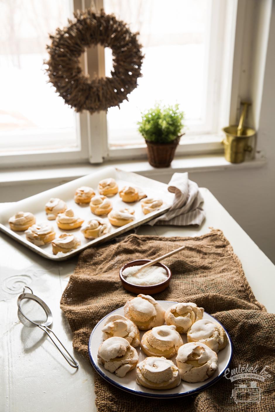 kókuszos tekercs az Emlékek Íze konyhájából