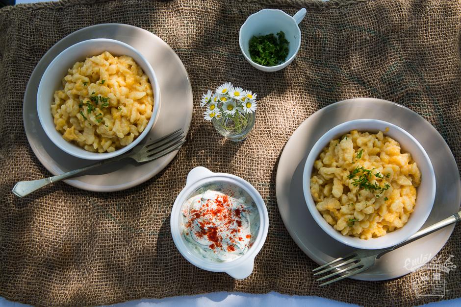 a tökéletes tojásos galuska receptje az Emlékek Íze konyhájából