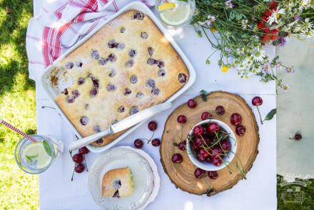 meggyes pite az Emlékek Íze konyhájából
