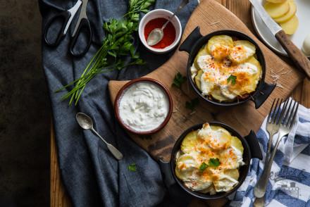 rakott krumpli családi recept alapján az Emlékek Íze vidéki konyhájából