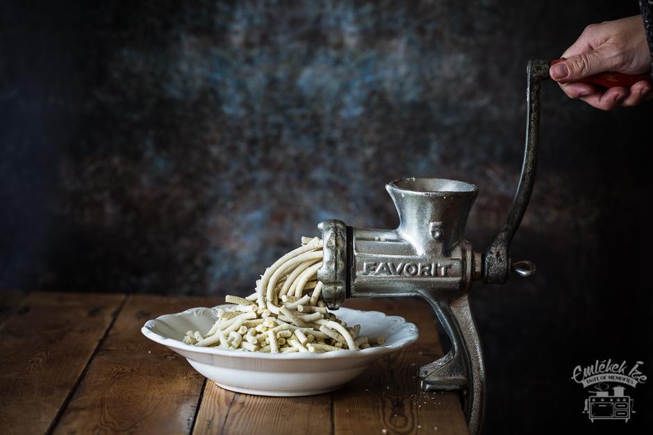 gesztenyepüré az Emlékek Íze konyhájából