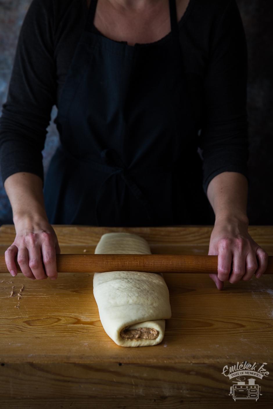 tepertős pogácsa az Emlékek Íze konyhájából