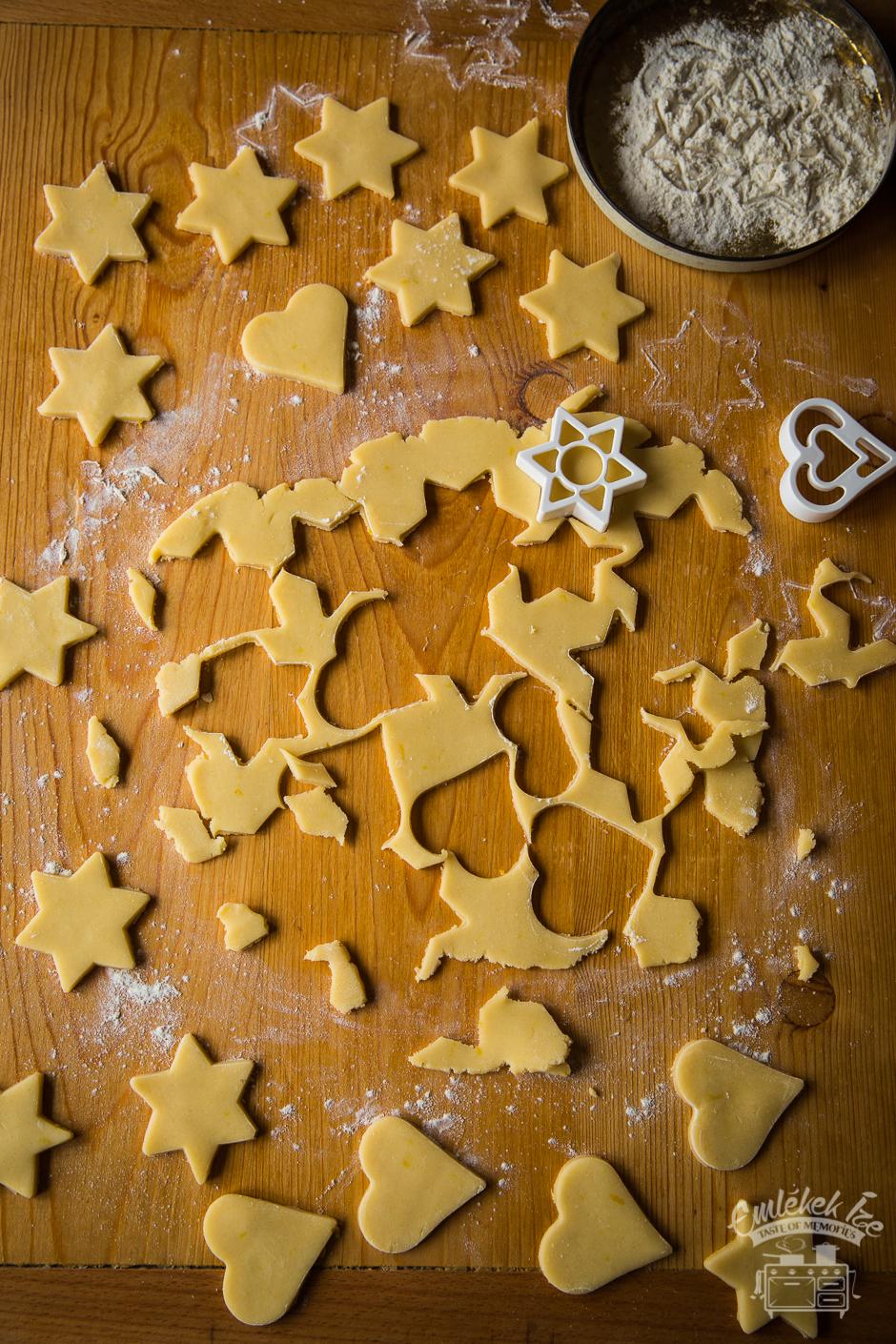karácsonyi linzer az Emlékek Íze konyhájából