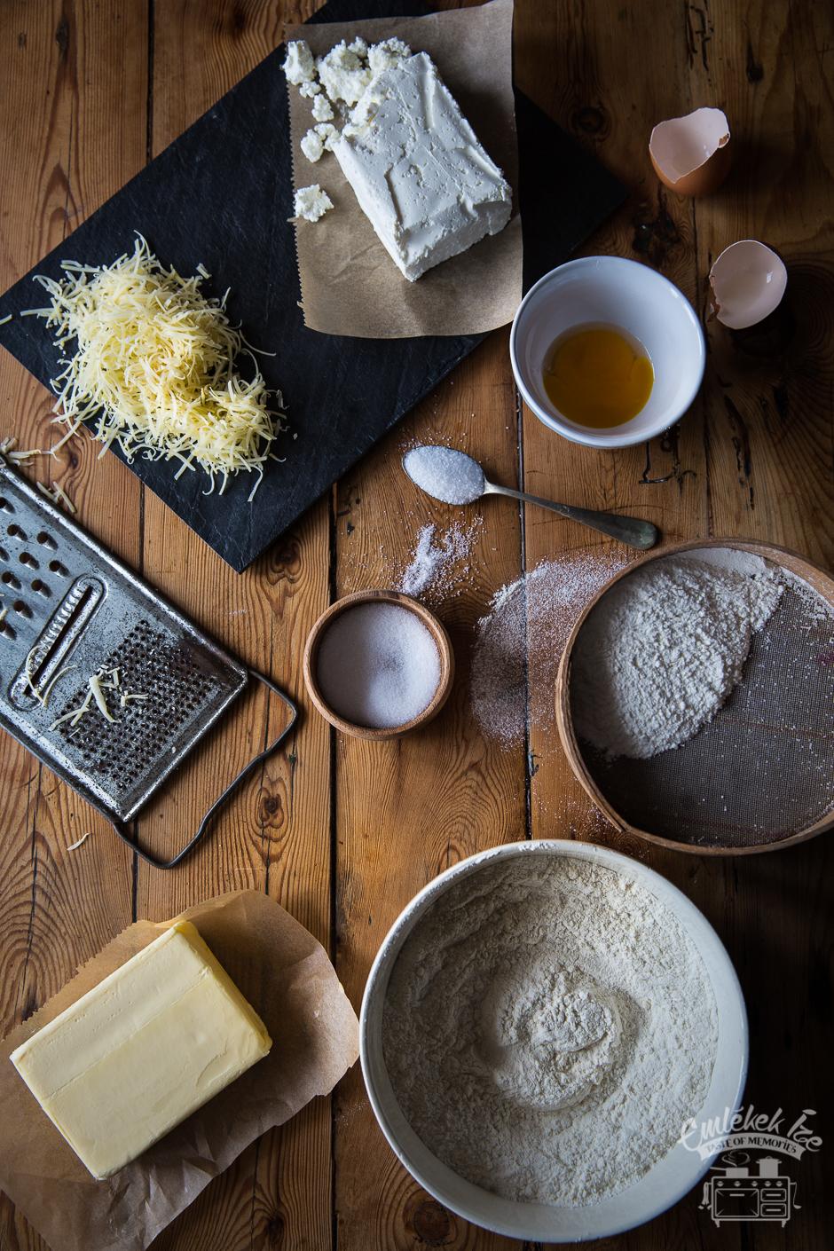 túrós pogácsa az Emlékek Íze konyhájából