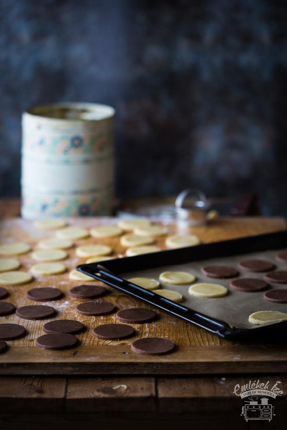 Mami-féle kétszínű keksz az Emlékek Íze konyhájából