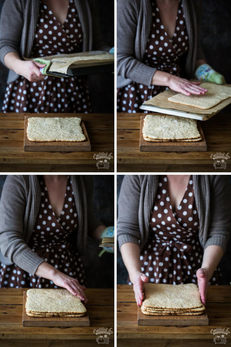 mézes zserbó az Emlékek Íze konyhájából