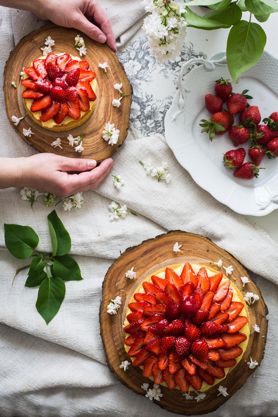 gyümölcstorta az Emlékek Íze konyhájából www.emlekekize.hu