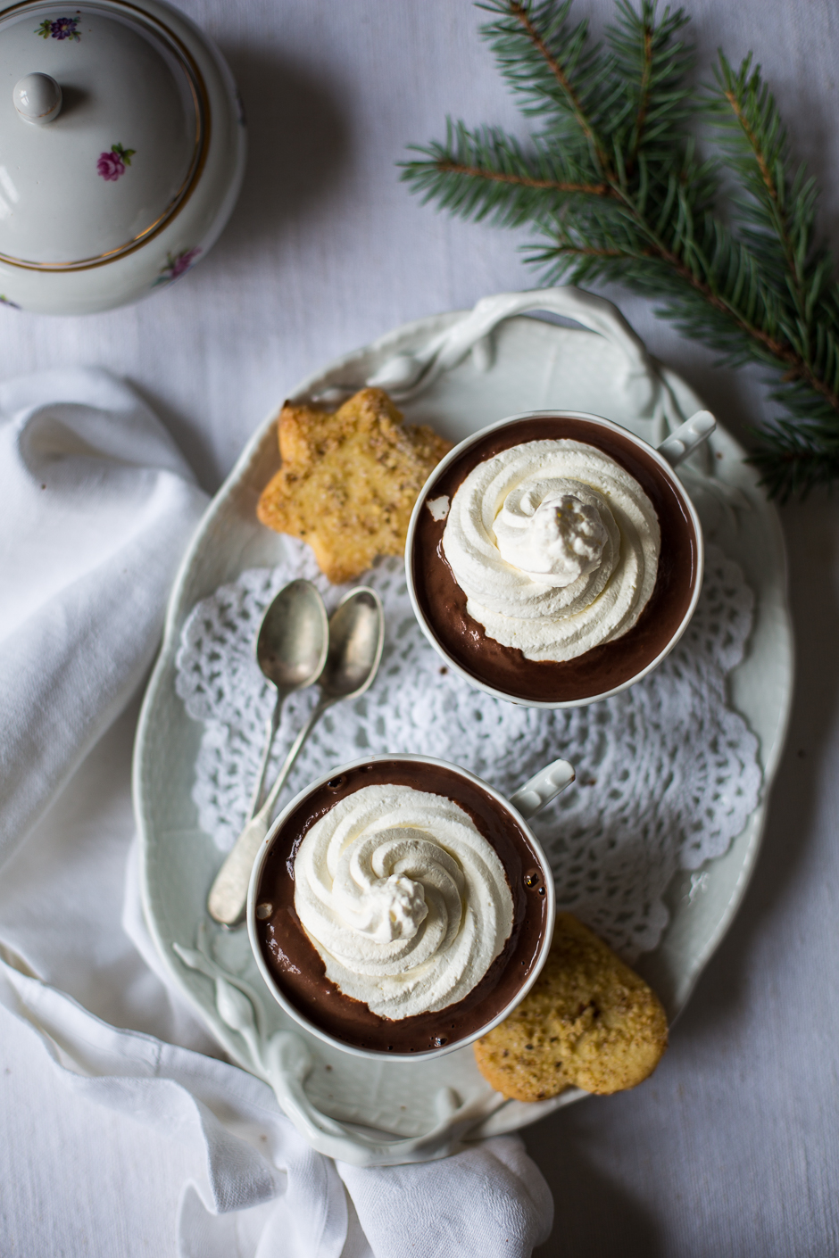 forró csokoládé az Emlékek Íze konyhájából www.emlekekize.hu