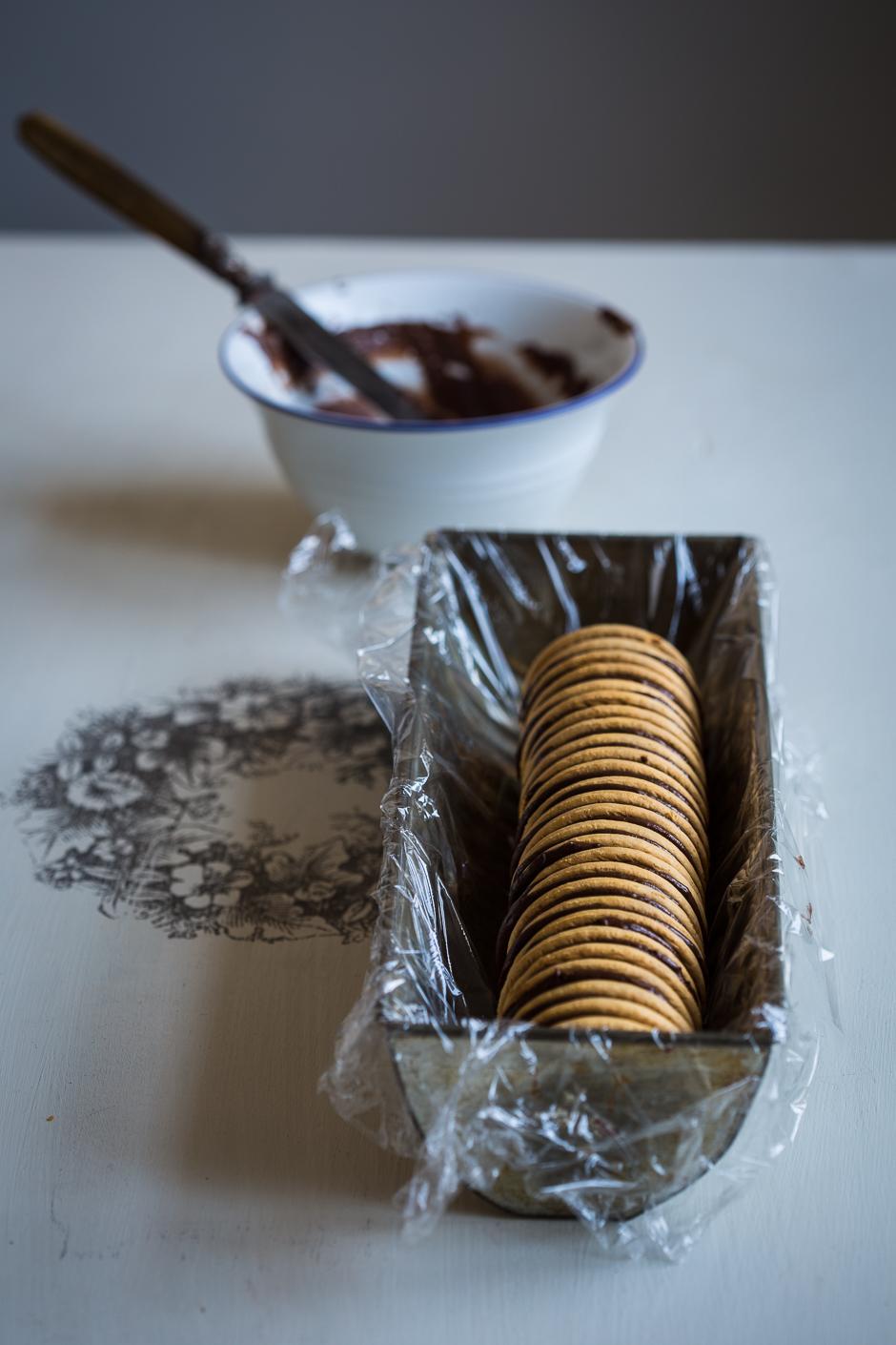 kávés-csokis krémmel töltött Albert keksz az Emllékek Íze konyhájából www.emlekekize.hu