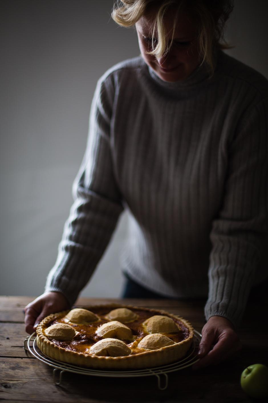 levendulás almatorta az Emlékek Íze vidéki konyhájából www.emlekekize.hu