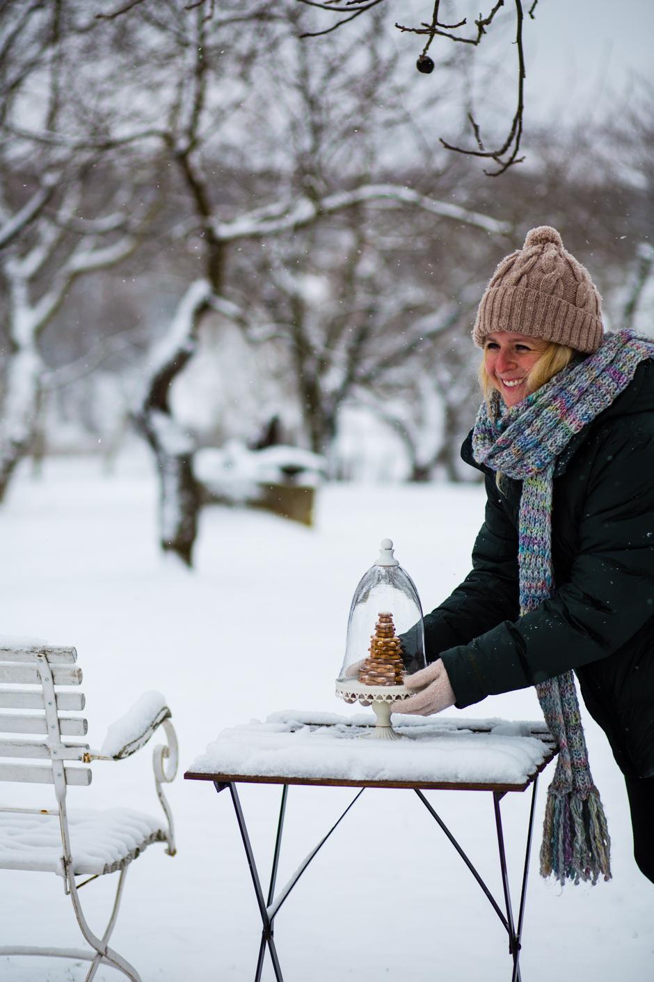 fűszeres linzer karácsonyfa az Emlékek Íze vidéki konyhájából www.emlekekize.hu
